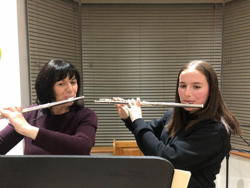 Flute lesson in Sheffield