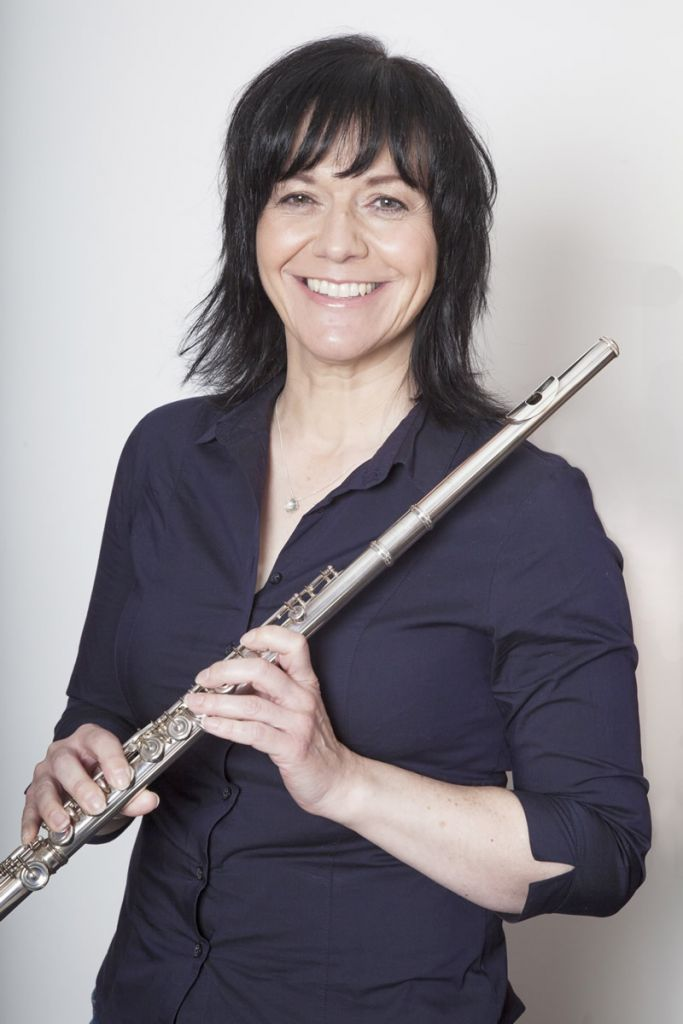 Fiona with flute